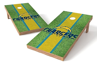 Tailgate Toss NFL Field Game Cornhole Set; San Diego Chargers