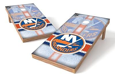 Tailgate Toss NHL Game Cornhole Set; New York Islanders