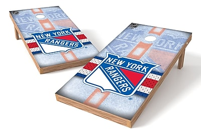 Tailgate Toss NHL Game Cornhole Set; New York Rangers