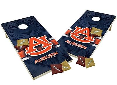 Tailgate Toss NCAA Shied Design Game Cornhole Set; Auburn Tigers