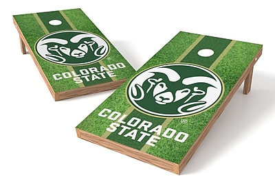 Tailgate Toss NCAA Shied Design Game Cornhole Set; Colorado State Rams