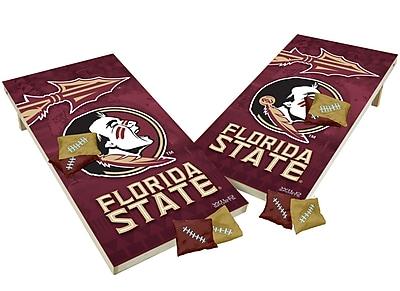 Tailgate Toss NCAA Shied Design Game Cornhole Set; Florida State Seminols
