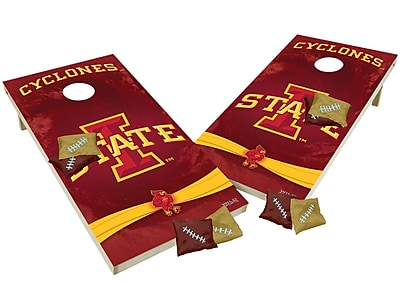 Tailgate Toss NCAA Shied Design Game Cornhole Set; Iowa State Cyclones
