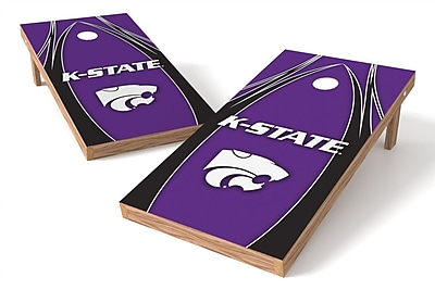 Tailgate Toss NCAA Shied Design Game Cornhole Set; Kansas State Wildcats
