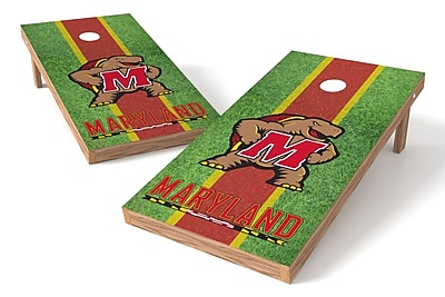 Tailgate Toss NCAA Shied Design Cornhole Game Set; Maryland Terrapins