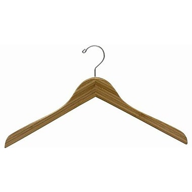 Only Hangers Inc. Bamboo Top Hanger (Set of 100); Dark Lacquer