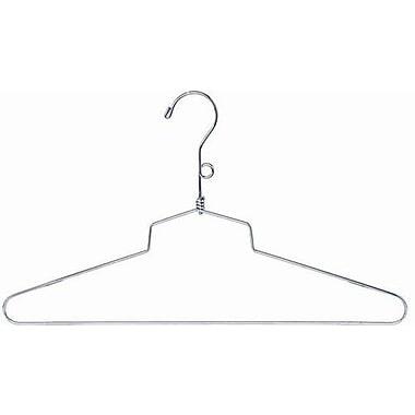 Only Hangers Inc. Metal Top Hanger (Set of 100); 10'' H X 18'' W