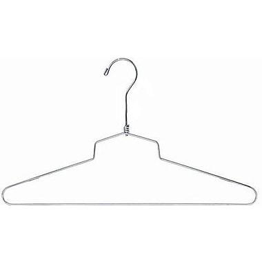 Only Hangers Inc. Metal Top Hanger (Set of 100); 18'' H X 18'' W