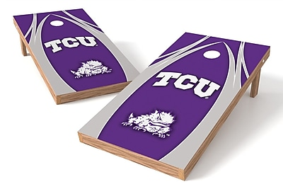 Tailgate Toss NCAA Cornhole Game Set; TCU Horned Frogs