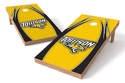 Tailgate Toss NCAA Game Cornhole Set; Towson Tigers