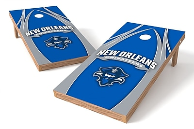 Tailgate Toss NCAA Game Cornhole Set; New Orleans Privateers