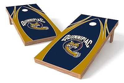 Tailgate Toss NCAA Game Cornhole Set; Quinnipiac Bobcats