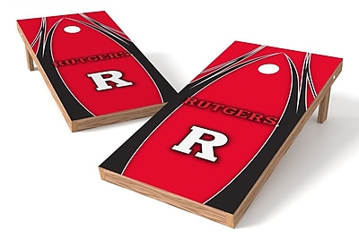 Tailgate Toss NCAA Game Cornhole Set; Rutgers Scarlet Knights