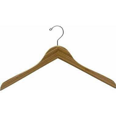 Only Hangers Inc. Bamboo Top Hanger (Set of 25); Dark Lacquer