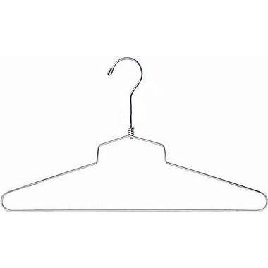 Only Hangers Inc. Metal Top Hanger (Set of 25); 10'' H X 18'' W