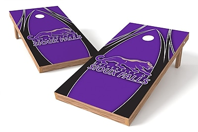 Tailgate Toss NCAA Game Cornhole Set; University of Sioux Falls Cougars