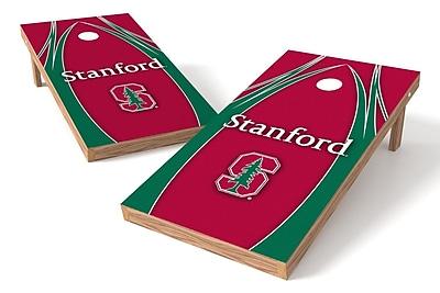 Tailgate Toss NCAA Shied Design Game Cornhole Set; Stanford Cardinals
