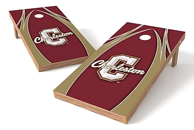 Tailgate Toss NCAA Game Cornhole Set; College of Charleston Cougars