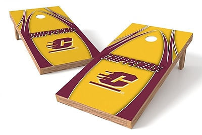 Tailgate Toss NCAA Game Cornhole Set; Central Michigan Chippewas