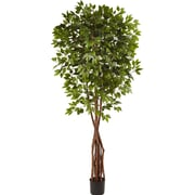 Nearly Natural Super Deluxe Ficus Tree in Pot
