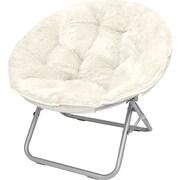Urban Shop Mongolian Fur Papasan Chair