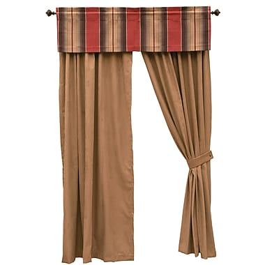 Wooded River Appalachian Curtain Panels