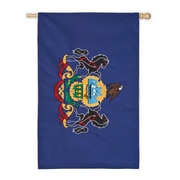 Evergreen Enterprises, Inc Pennsylvania State Vertical Flag