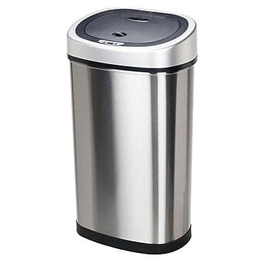 Nine Stars Stainless Steel 13.2 Gallon Motion Sensor Trash Can
