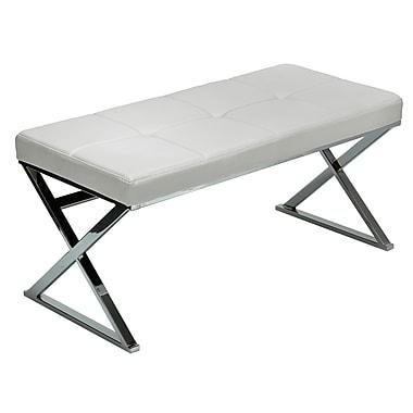 Cortesi Home Zio Upholstered Bench