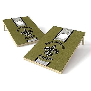 Tailgate Toss NFL Heritage Cornhole Game Set; New Orleans Saints