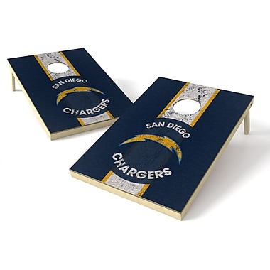 Tailgate Toss NFL Heritage Cornhole Game Set; San Diego Chargers