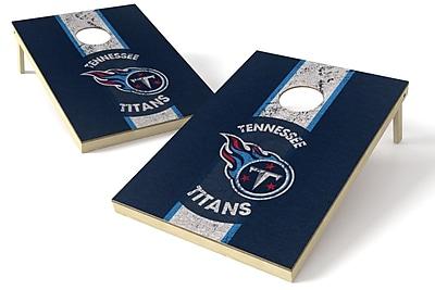 Tailgate Toss NFL Heritage Cornhole Game Set; Tennessee Titans
