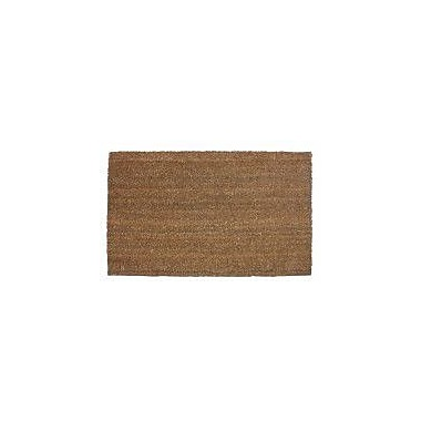 J&M Home Fashions Plain Doormat; 2'6'' x 4'