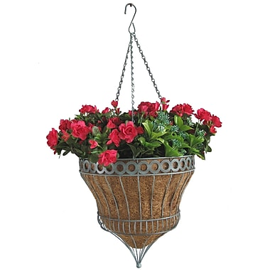 Grower Select Steel Hanging Planter
