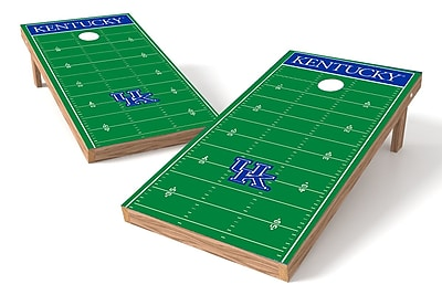 Tailgate Toss NCAA Football Field Cornhole Game Set; Kentucky Wildcats