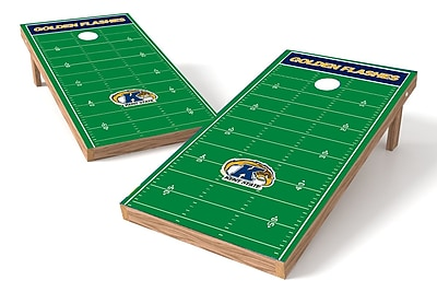 Tailgate Toss NCAA Football Field Cornhole Game Set; Kent State Golden Flashes