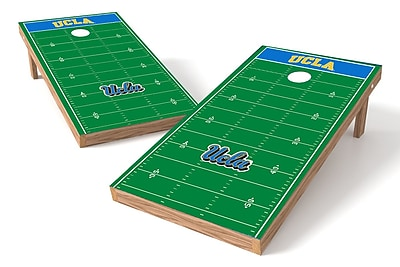 Tailgate Toss NCAA Football Field Cornhole Game Set; UCLA Bruins