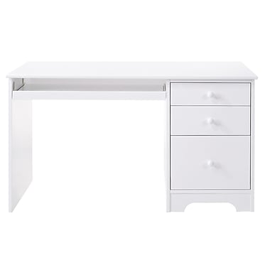 Canwood Furniture Lakecrest Computer Desk; White