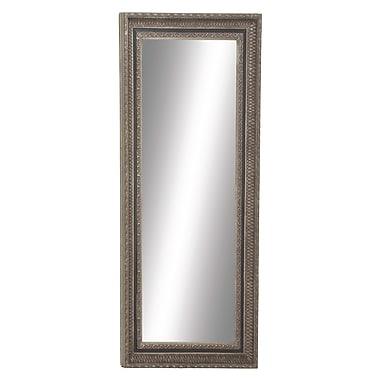 Cole & Grey Wood Framed Wall Mirror