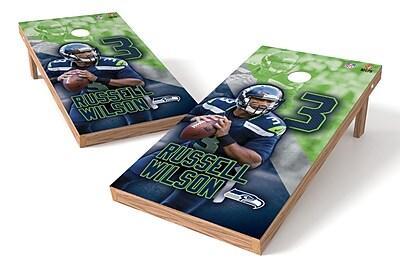 Tailgate Toss NFLPA Seahawks Russell Wilson Cornhole Game Set