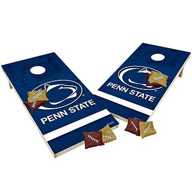 Tailgate Toss NCAA Shied Design Cornhole Game Set; Penn State Nittany Lions