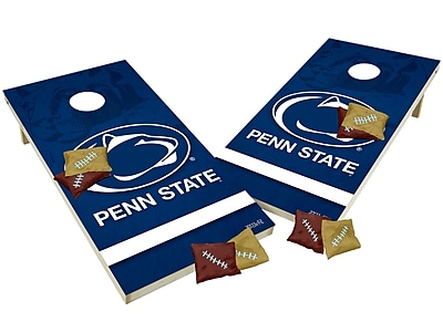 Tailgate Toss NCAA Shied Design Game Cornhole Set; Penn State Nittany Lions