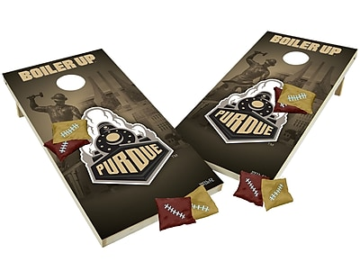 Tailgate Toss NCAA Shied Design Game Cornhole Set; Purdue Boilermakers