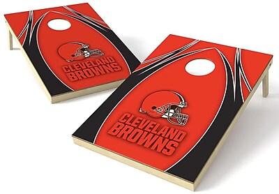 Tailgate Toss NFL Cornhole Board (Set of 2); Cleveland Browns