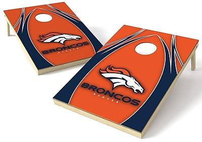 Tailgate Toss NFL Cornhole Board (Set of 2); Denver Broncos
