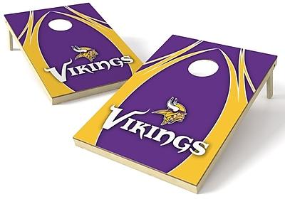 Tailgate Toss NFL Cornhole Board (Set of 2); Minnesota Vikings