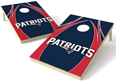Tailgate Toss NFL Cornhole Board (Set of 2); New England Patriots