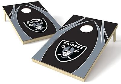 Tailgate Toss NFL Cornhole Board (Set of 2); Oakland Raiders