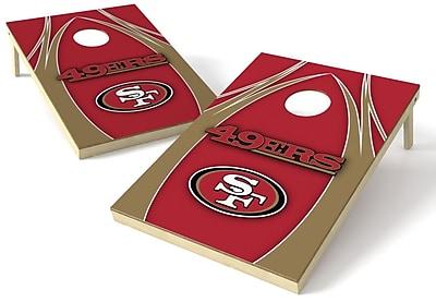 Tailgate Toss NFL Cornhole Board (Set of 2); San Francisco 49ers