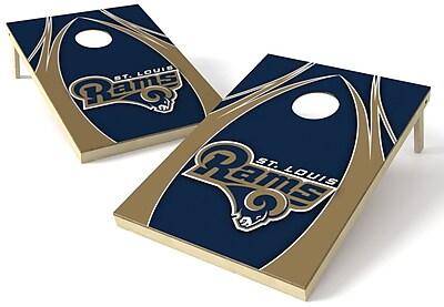 Tailgate Toss NFL Cornhole Board (Set of 2); St Louis Rams WYF078278970915